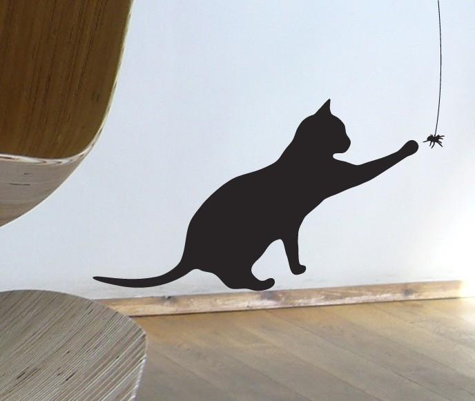 Коты на стене своими руками 937